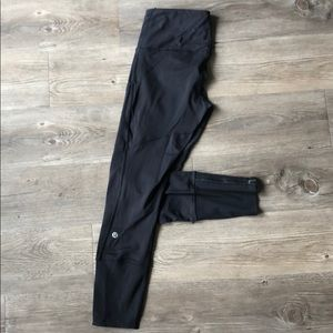 RARE lululemon rebel runner crop luxtreme size 4